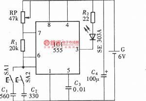 Infrared Remote Control Volume Potentiometer  Cd4528
