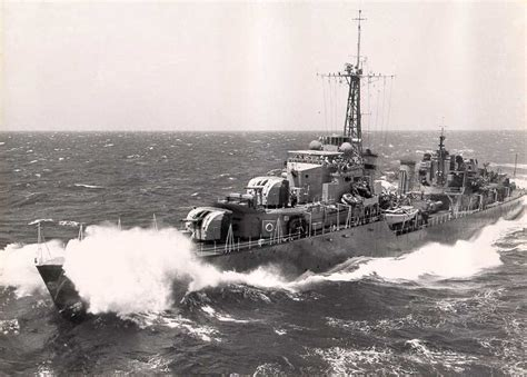 Royal Navy Tribal Class Destroyer