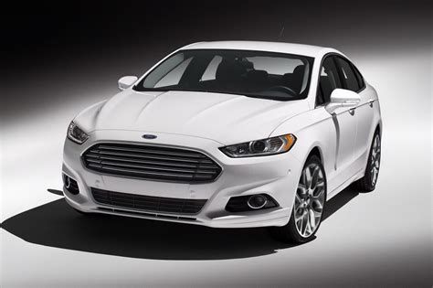 Ford Car : All-new 2013 Ford Fusion Gets Epa Fuel Economy Of 37 Mpg