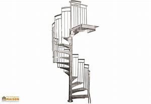 Escalier Exterieur Metal : escalier ext rieur en colima on en m tal galvanis alaska ~ Voncanada.com Idées de Décoration