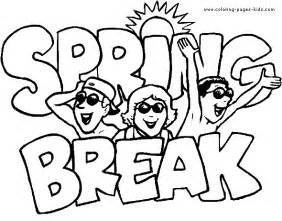 Free Printable Spring Coloring Pages Summer