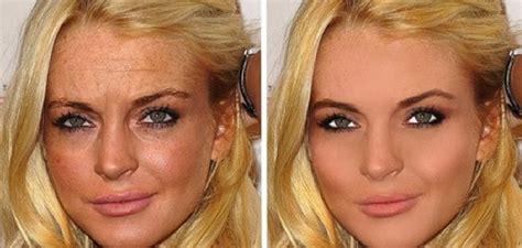 22 celebridades antes e depois do photoshop