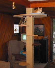 DIY Cat Tree Plans Tower
