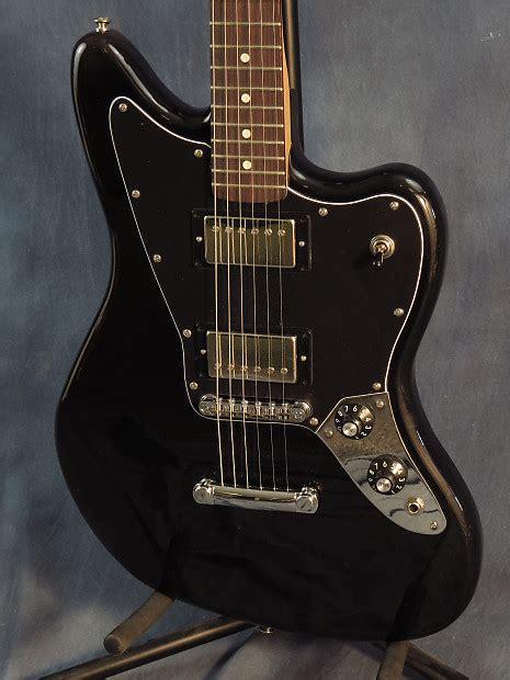 Fender Jaguar Hh Blacktop by Fender Blacktop Jaguar Hh Black Reverb