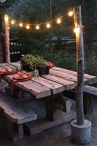 25 best ideas about rustic outdoor decor on pinterest for Katzennetz balkon mit solar led garden lights