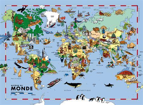 Acheter Carte Du Monde Originale by Carte Du Monde Pour Les Enfants Imvt