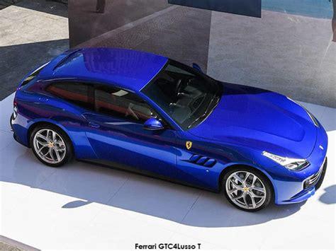Is The Ferrari Gtc4lusso T The First 4-seater V8 Ferrari