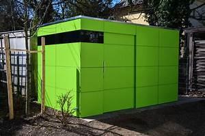 Geräteschuppen Modernes Design : m nchen design gartenhaus gart lime green ~ Markanthonyermac.com Haus und Dekorationen