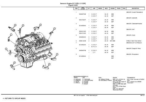 2005 300c Hemi Engine Diagram by 2006 Chrysler 300 Engine Diagram Automotive Parts