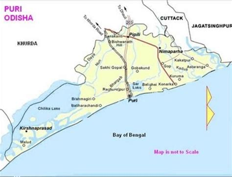 map  puri odisha odisha city guide pinterest