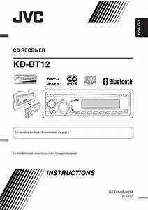 Jvc Kd-bt12 Owner U0026 39 S Manual By Car Audio