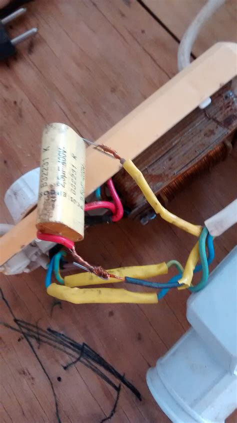 cable suelto en la bobina ventilador 3 v yoreparo