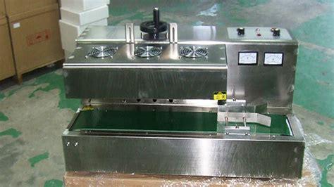 tabletop automatic aluminum foil induction sealing machine plastic medical bottles caps