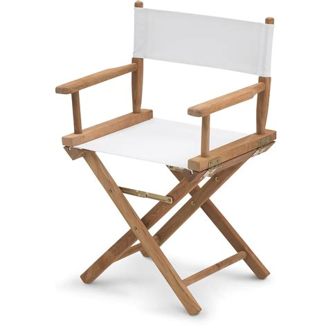 director s chair teak canvas skagerak horne