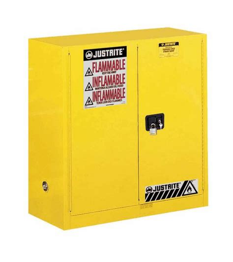 Justrite Flammable Cabinet 45 Gallon by Justrite Sure Grip Ex Flammable Storage Cabinet 30 Gal