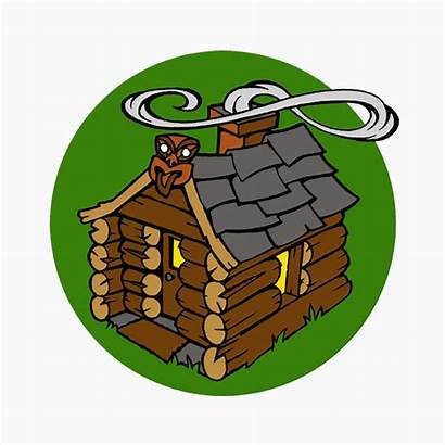 Log Cabin Cartoons Radio Clipartmag