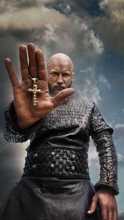 Vikings Ragnar Iphone Cross Wallpapers Lothbrok Jour