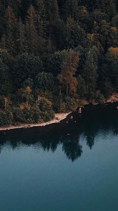 Iphone Lake Wallpapers Max Xs Zen Fall