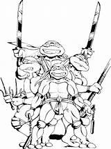 Coloring Ninja Shredder Turtles Mutant Teenage Master Splinter Turtle Getcolorings Printable sketch template
