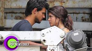 Taylor Lautner's New Girlfriend, Marie Avgeropoulos! - YouTube