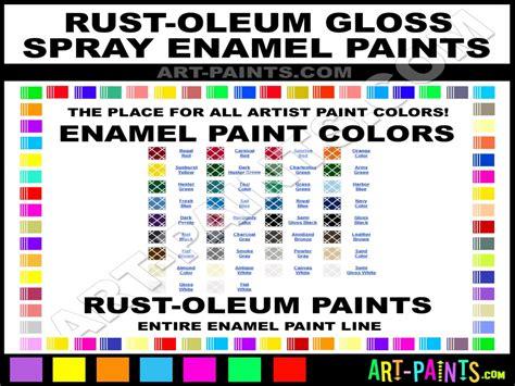 rustoleum color chart glossy spray paint enamel spray paint colors rust oleum