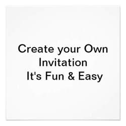 make your own wedding invitations wedding create your own invitation 5 25 quot square invitation card zazzle