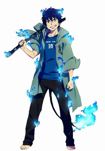 Rin Okumura Anime Character Exorcist Designs Seen