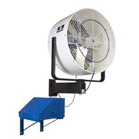 wall mounted patio fans outdoor patio fans wall mount mist works 18 inch outdoor