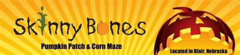 Skinny Bones Pumpkin Patch Ne by Find Corn Mazes In Blair Nebraska Skinny Bones Pumpkin