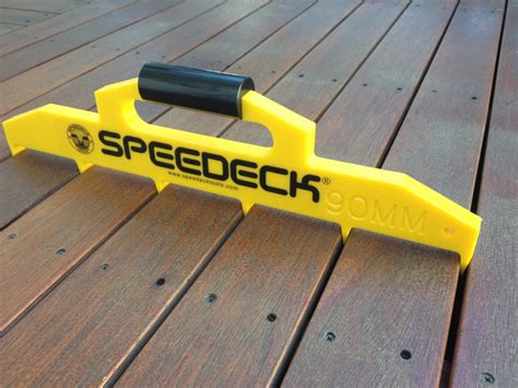Deck Board Spacers Menards by Speedeck Decking Spacing Pro Tool Various Sizes Ebay