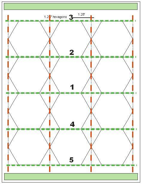 hexagon quilt template tips for cutting hexagon templates geta s quilting studio