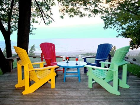cottagespot recycled plastic adirondack chair