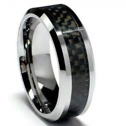 cheap mens wedding bands cheap tungsten carbide 39 s unisex ring wedding band 8mm 5 16 inch flat step carbon