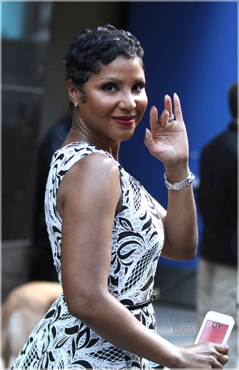 toni braxton promoting   book  nyc sandra rose