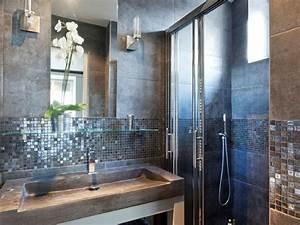 decoration salle de bain mosaique With mosaique salle de bains