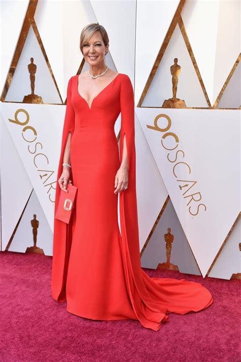 Allison Janney Oscars Red Carpet Dresses Popsugar