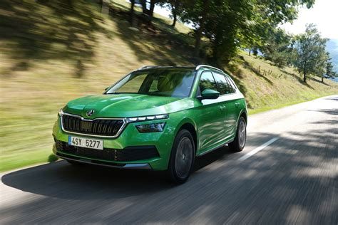 skoda kamiq review  parkers