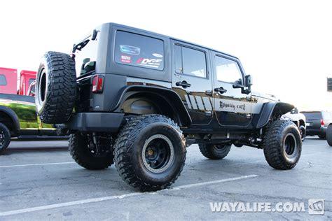 black jeep 4 door 2012 sema royalty core black 4 door jeep jk wrangler