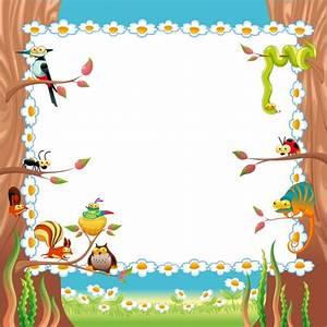 Nature frame design Vector | Free Download