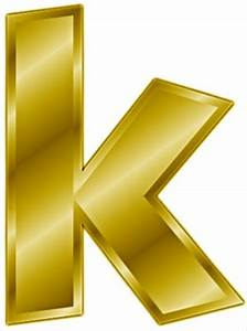 free gold letter k clipart free clipart graphics With gold letter k