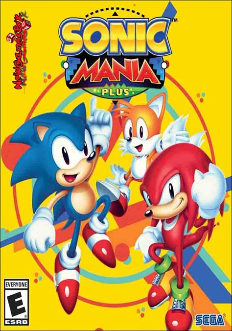 sonic mania    full version pc game setup