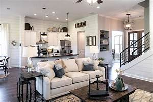 60 amazing farmhouse style living room design ideas (31