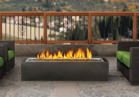 PatioFlame Linear Fire Pit, Gas Outdoor Fire Pit   Fine?s Gas