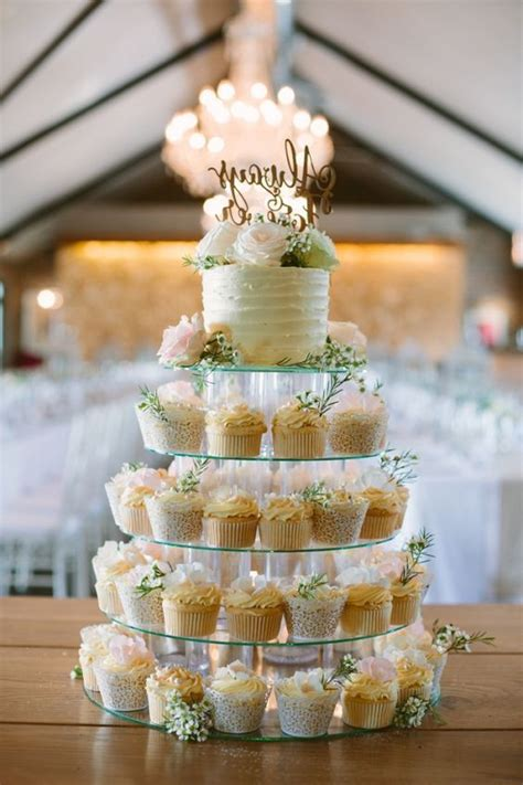 sweetest rustic themed wedding cupcakes guides