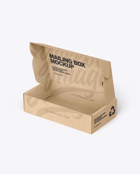 9,000+ vectors, stock photos & psd files. Free Opened Kraft Paper Mailing Box Mockup (PSD)