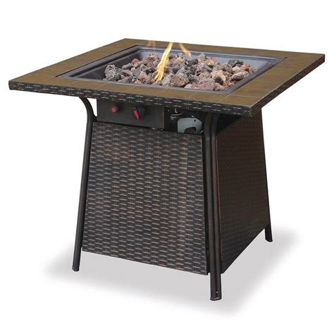 If you have an idea for an article or just. Endless Summer Decorative Tile Mantel LP Gas Outdoor Fire Pit + Rocks | GAD1001B | eBay