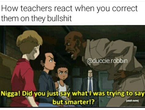 Boondocks Meme - boondocks meme by slvrdllr memedroid