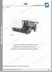 John Deere Cts Combine 900 Series Platfor Parts Manual