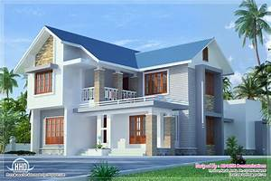 Three fantastic house exterior designs - Kerala home
