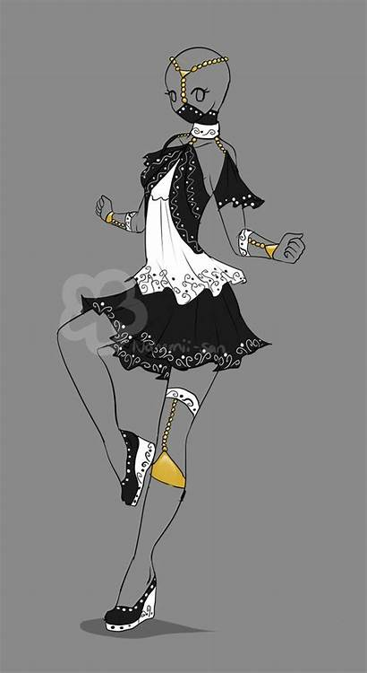 Deviantart Fantasy Anime Outfits Designs Character Nahemii